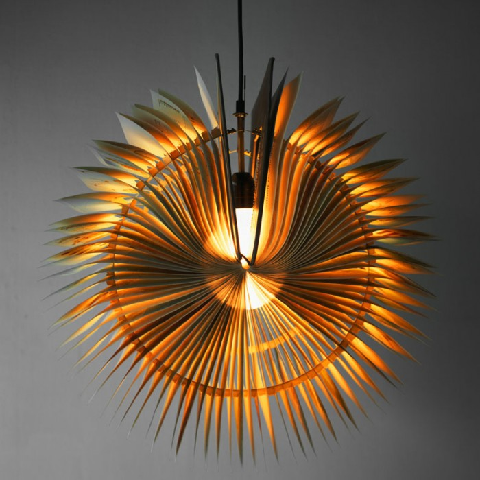 Michael Bom Book Lamp