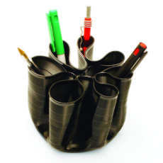 Penman sustainable vinyl record pen holder