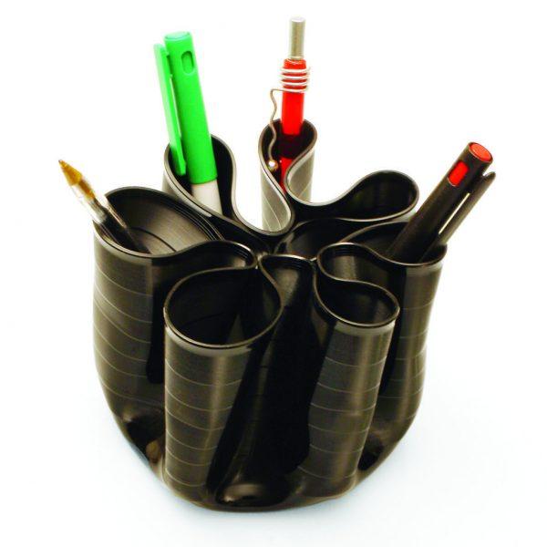 Penman sustainable vinyl record pen holder