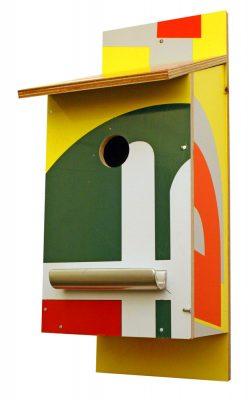 Billbirdhouse multicoloured recycle nest box