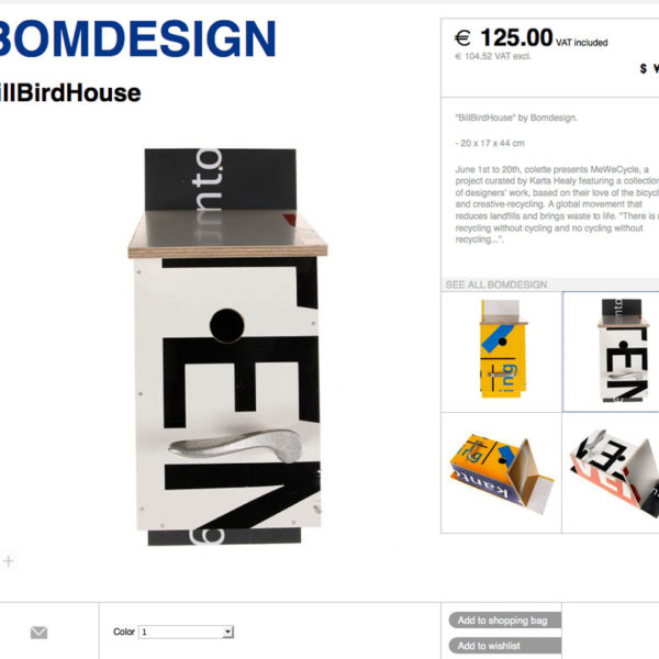 bomdesign typo chair colette