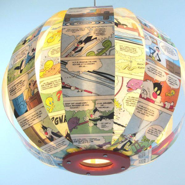 WHAM! comic book lamp - Sylvester & Tweety