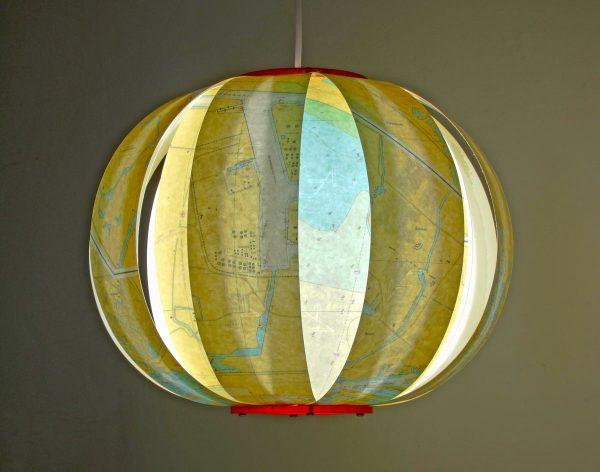 zee kaart lamp