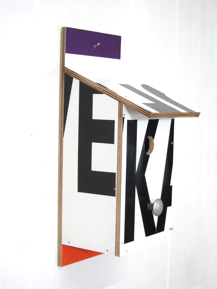 Billbirdhouse Purple & Orange recycle design