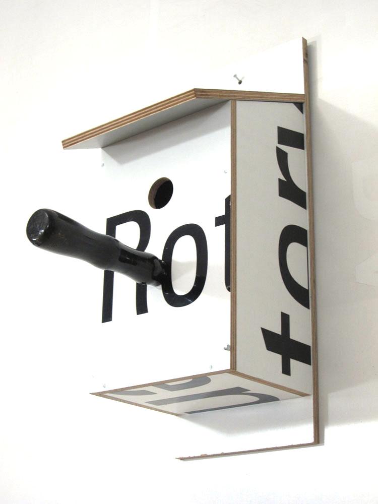 Billbirdhouse White & Black recycle design