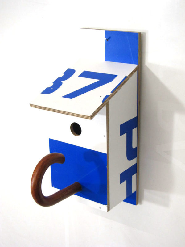 Billbirdhouse Blue & White recycle design