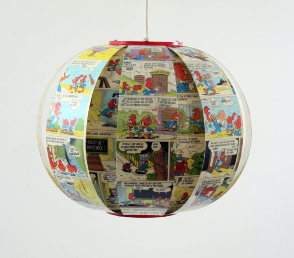 woody woodpecker comic book lamp