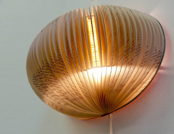 equinox novel book lamp bomdesign