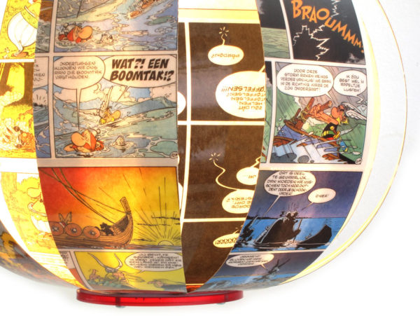 Asterix & Obelix - comic book lamp