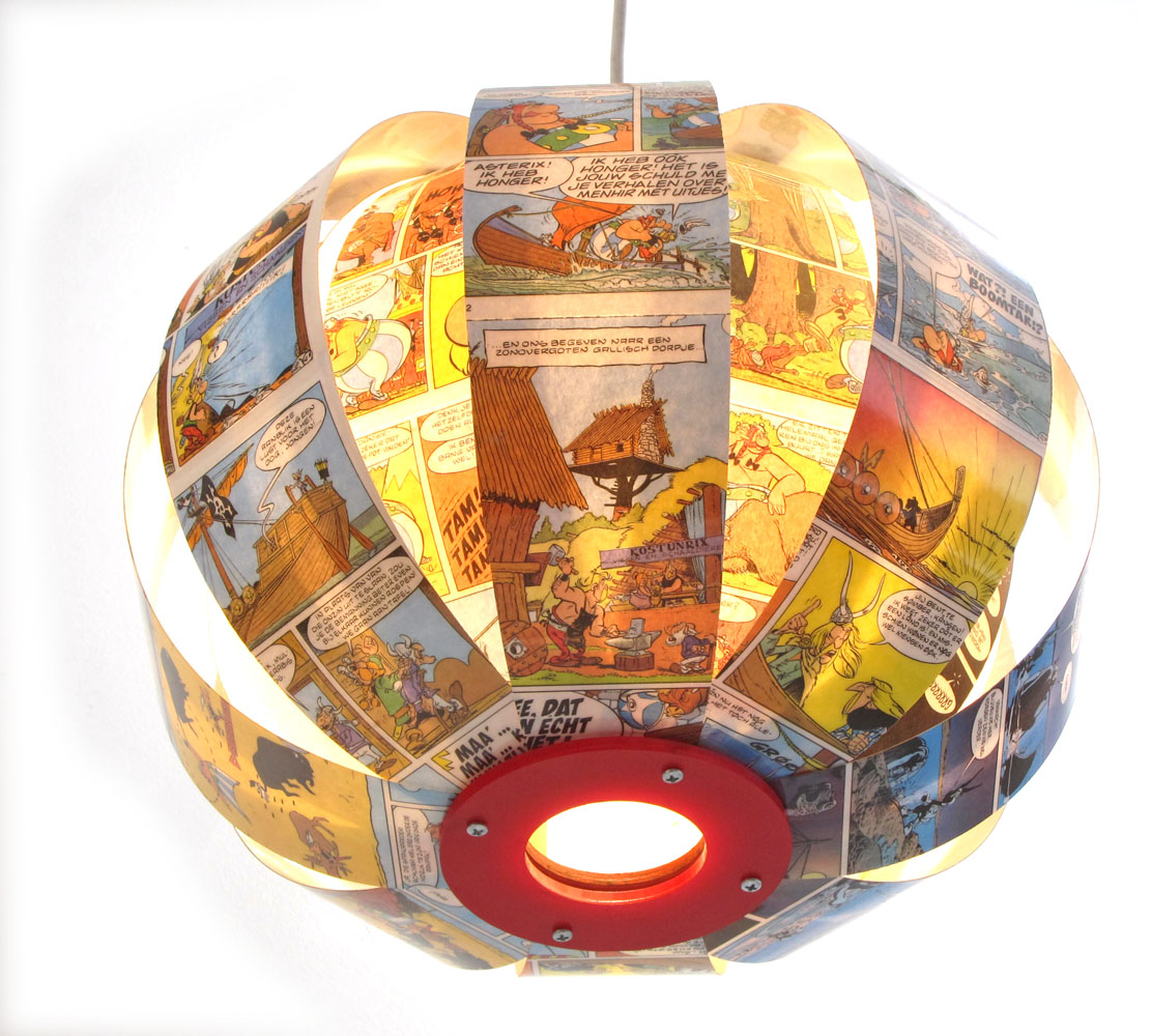 Asterix & Obelix - comic book lamp