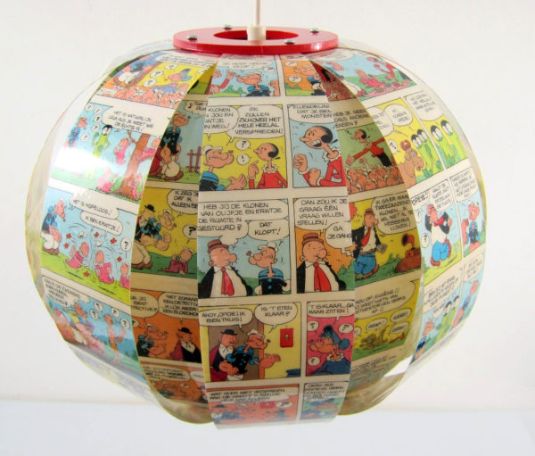 Popeye Comic book lamp