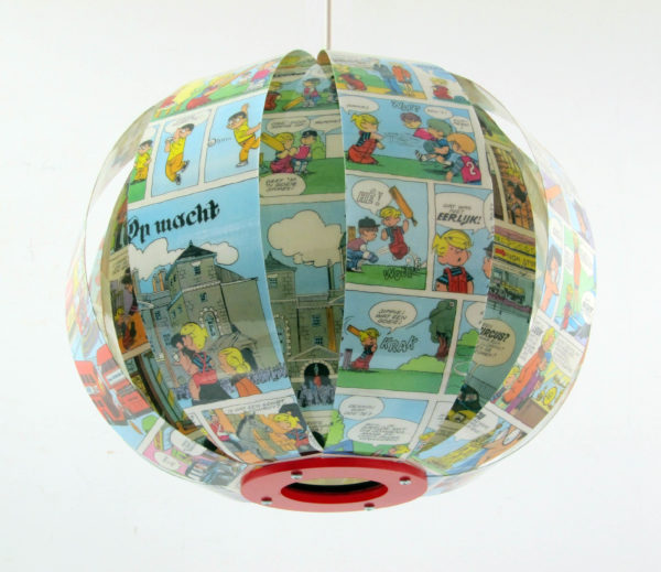 Dennis comic book lamp