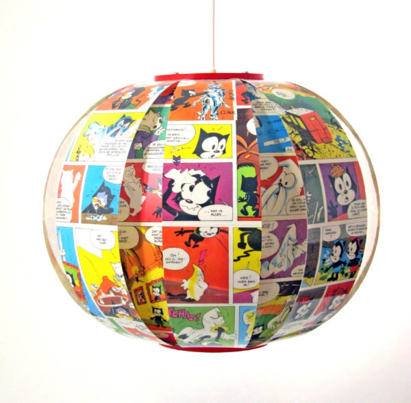 Felix the Cat comic book lamp