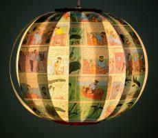 Kuifje Tintin comic book lamp bomdesign