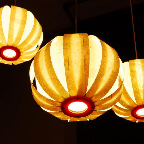 Sea Lamps Michael Bom Hotel New York Rotterdam