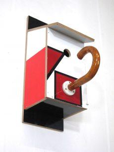 Billbirdhouse Black, Red & White recycle design