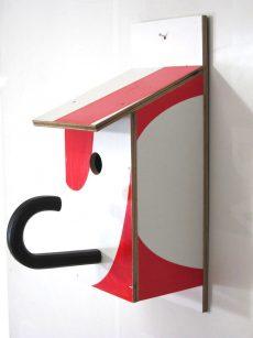 Billbirdhouse White & Red recycle design