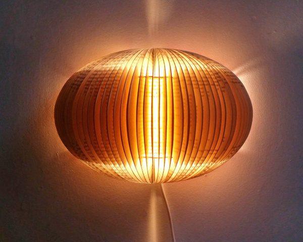 equinox novel book lamp bomdesign