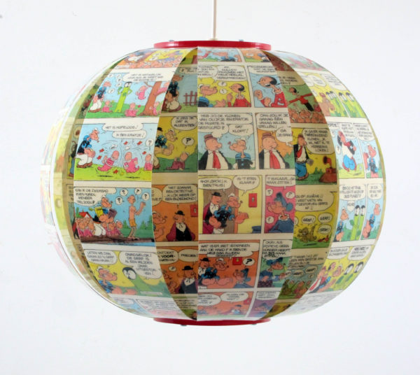 Popeye Comic book lamp