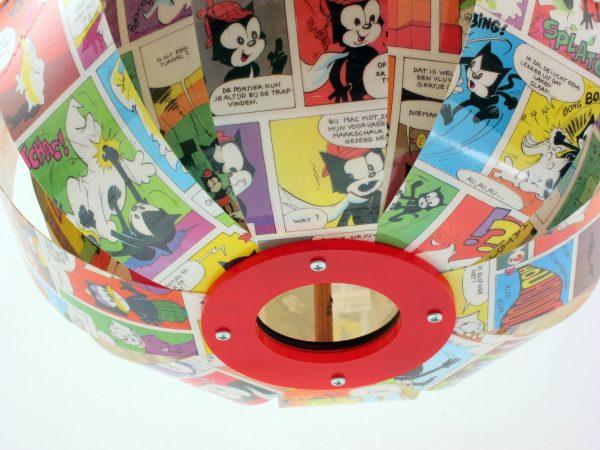 Felix the Cat comic book lamp